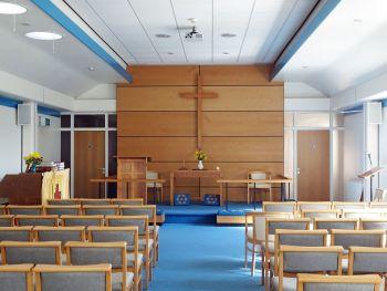 Present worship area