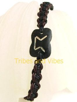 PERTHRO (Perdhro) Rune Bracelet for Secrets & Divination