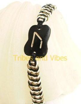 URUZ Rune Bracelet for Strength, Change & Transition