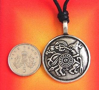 Viking Horse Sleipnir Pendant Necklace