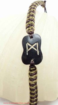 MANNAZ Rune Bracelet for Humankind, Interdependancy