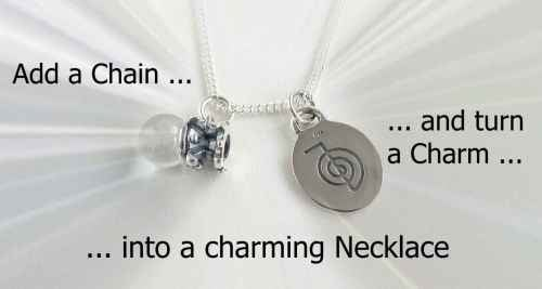 add a Sterling Silver Curb Chain Necklace to Charms