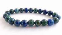 lapis chrysocolla crystal beads bracelet