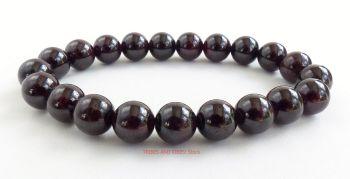 Garnet Crystal Beads Bracelet