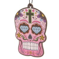 skull day of the dead 31 October cherry air freshner