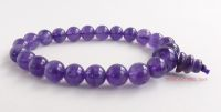 amethyst bracelet crystal gemstone power beads