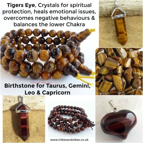 tigers eye crystal healing jewellery birthstone taurus gemini leo capricorn