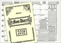 Gwydions Moon Diary 2018 the Witches' Favourite Pagan Calendar