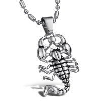 scorpion stainless steel necklace