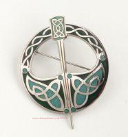 Celtic Irish Tara Brooch by Sea Gems (large)