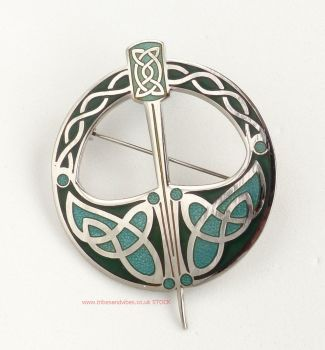 Celtic Irish Tara Brooch by Sea Gems (large)