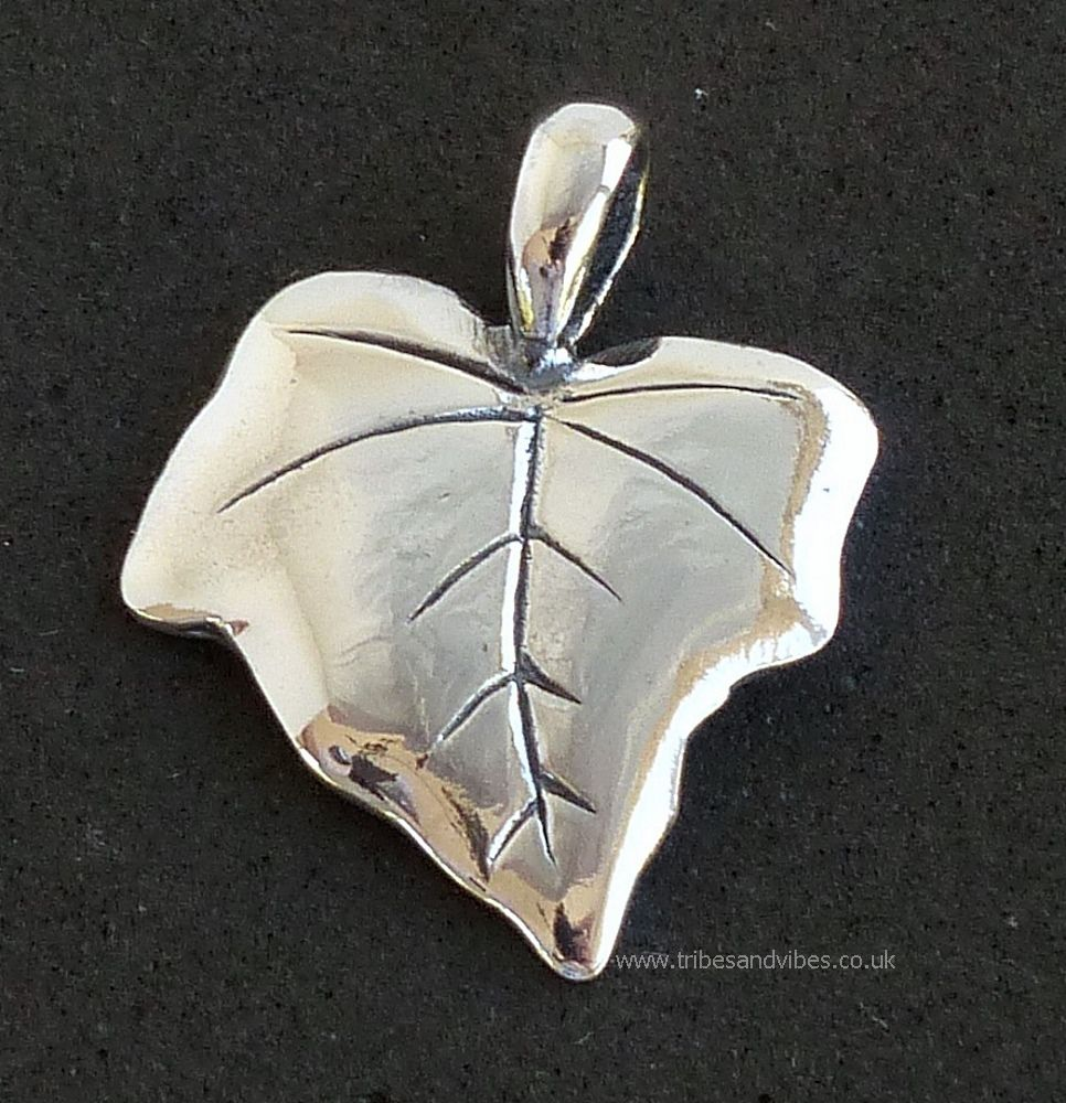 Ivy Leaf Pendant Sterling Silver (stock)
