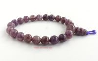 Lepidolite crystal Power Beads Bracelet Birthstone Libra