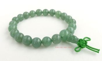 Aventurine (Green) Bracelet Crystal Power Beads Mala