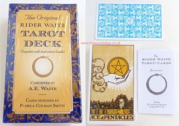 Rider AE Waite Tarot Cards, Boxed Set with Basic Instructions