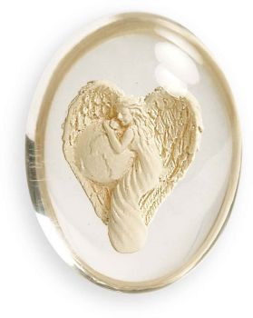 Travel Angel - Worry Stone Pocket Angel by AngelStar