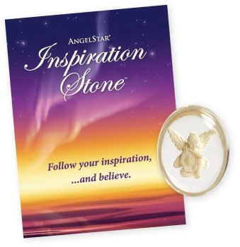Inspiration Angel - Worry Stone Pocket Angel by AngelStar