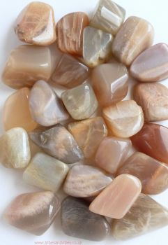 Moonstone Crystal Tumbled Stones 20mm-25mm