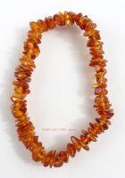 Amber (Cognac Baltic) Bracelet Crystal Chips