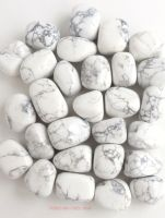 Howlite (White) Crystal Tumbled Stones 20mm-25mm