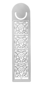 Celtic Dragons Triquetra Knotwork Bookmark, 125mm
