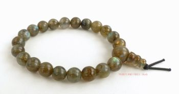 Labradorite Bracelet Crystal Power Beads Mala