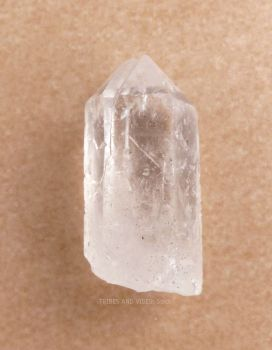 Quartz Crystal Point Wand Tip x 1 (30mm-40mm)
