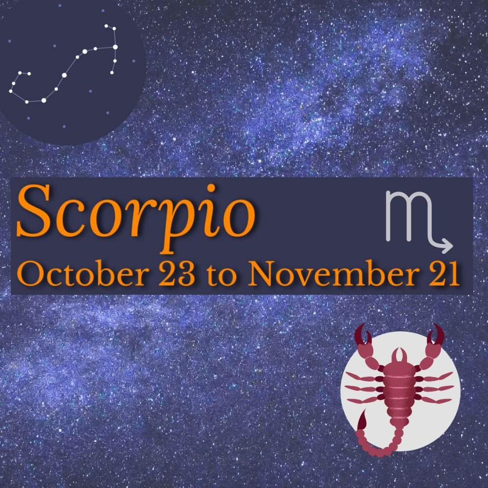 <!--011-->Scorpio: October 23 - November 21