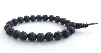 Lava Stone Bracelet Power Beads Mala