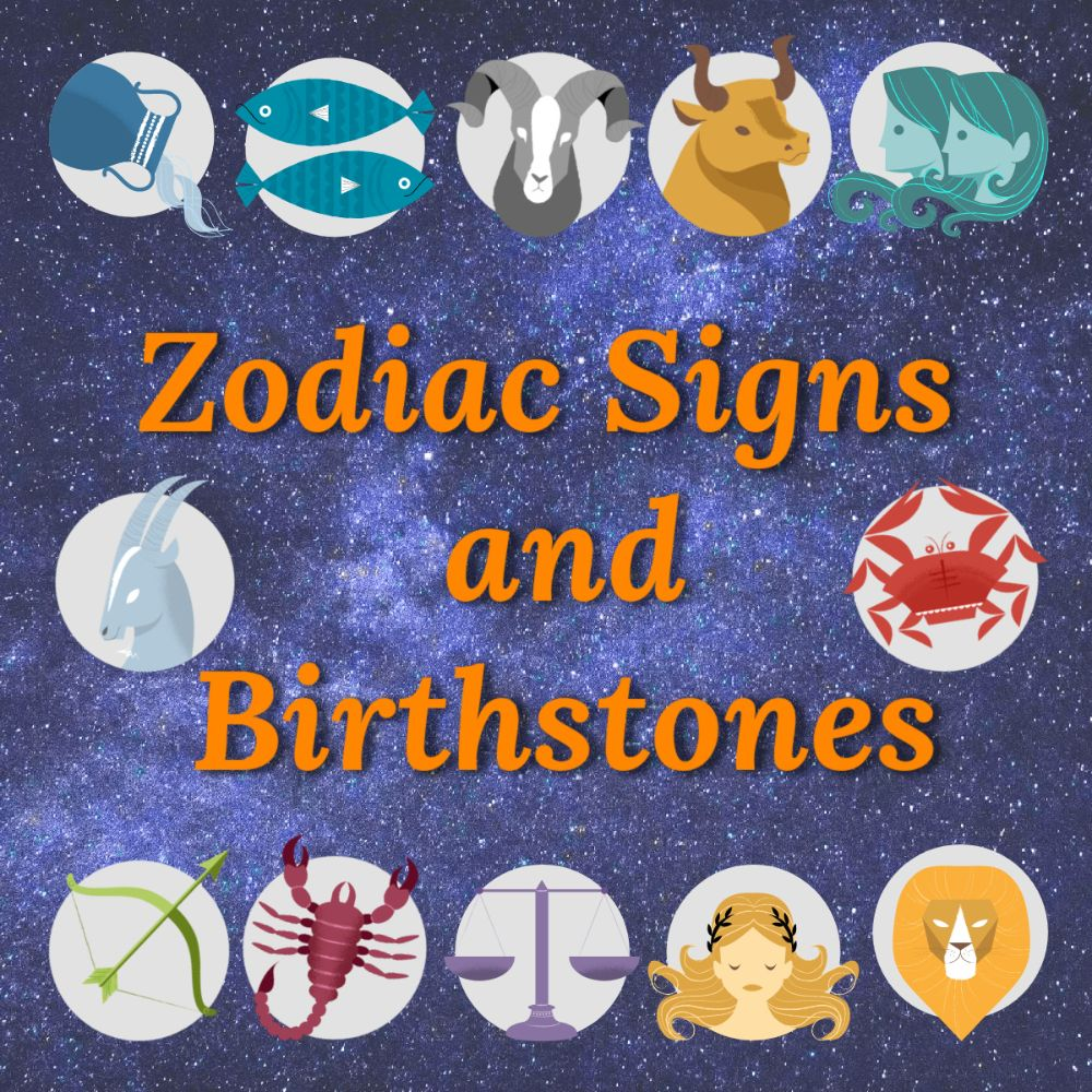 <!--04-->Shop by Zodiac Sign for Birthstones