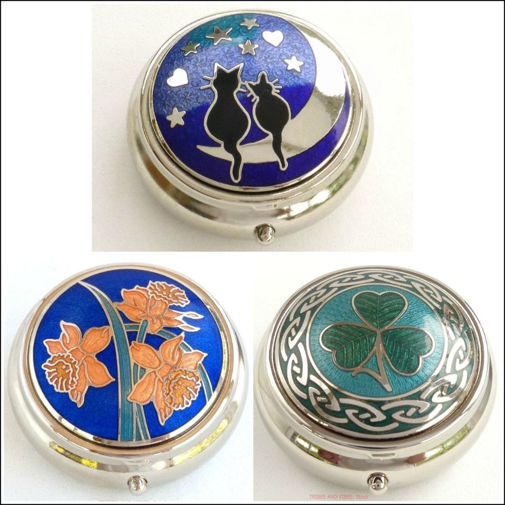 <!--14-->Pill Boxes, Trinkets