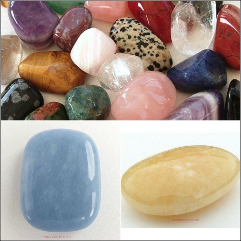 <!--18-->Tumbled Stones & Palmstones