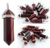 Tigers Eye (Red) Crystal Point Pendant + Choice of Necklace