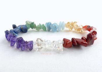Chakra Bracelet Crystal Chips (8 Chakras)