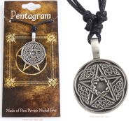 Celtic Pentagram Pentacle Pendant Necklace