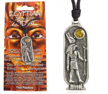 HORUS Egyptian Zodiac 28 September to 27 October Necklace