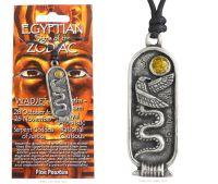 <!--011-->WADJET Egyptian Zodiac 28 October to 26 November Necklace