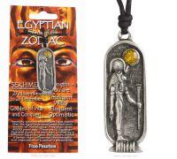 <!--012-->SEKHMET Egyptian Zodiac 27 November to 26 December Necklace