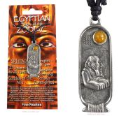 <!--001-->SPHINX Egyptian Zodiac 27 December to 25 January Necklace