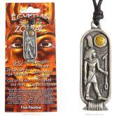 <!--002-->SHU Egyptian Zodiac Pendant Necklace 26 January to 24 February