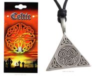 Triquetra Spirals of Life Necklace