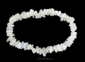 Rainbow Moonstone Bracelet Crystal Gemstone Chips