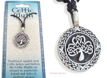 Celtic Tree of Life Knotwork Pendant Necklace