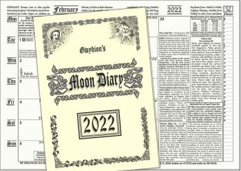 2022 Gwydion's Moon Diary, The Witches' Favourite