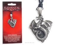 <!--005-->Chinese EARTH DRAGON Pendant Necklace for 1988 1989