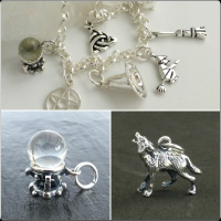 <!--09-->Charms &amp; Charm Bracelet (Sterling Silver)