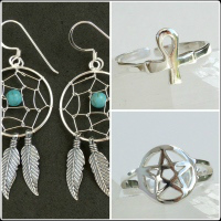 <!--11-->Earrings & Toe Rings