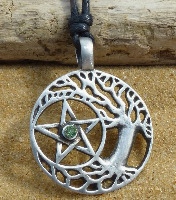 Pentacle, Pentagram, Pagan & Goddess