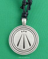 AWEN Three Rays Druid Pendant Necklace