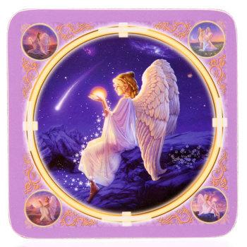 Angel / Fairy Wishing Star Drinks Mat Coaster